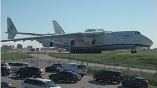 World's Heaviest Aircraft! Antonov An-225 Mriya Stunning Take Off from Toronto Pearson Airport