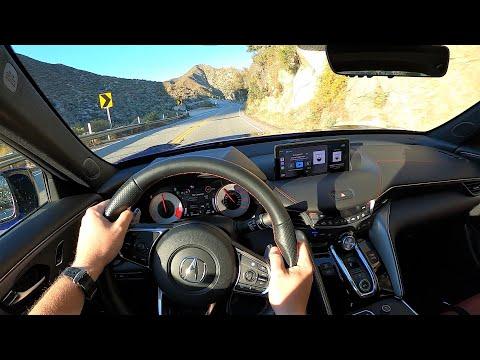 2021 Acura TLX SH-AWD A-Spec - POV Test Drive (Binaural Audio)