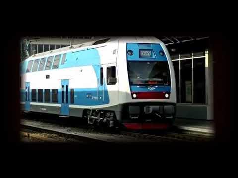 Ex-USSR speed super trains