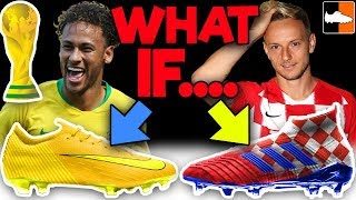 What If Boots Had To Match Team's 🏆⚽ WORLD CUP Kits?!