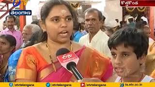 Veerabhadra Swamy Brahmotsavam Going on   in Kothakonda   Warangal Urban Dist
