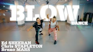 Ed Sheeran Blow With Chris Stapleton Amp Bruno Mars Dance Patman Crew Choreography