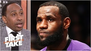 'I'm starting to get worried about LeBron James' - Stephen A. l First Take