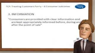 Treating Customers Fairly (TCF)