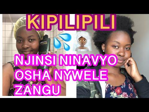 Jinsi ninavyo osha nywele na Kuondoa mba kichwani, Kukuza nywele za kipilipili