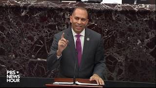 WATCH: Rep. Jeffries says impeachment trial without witnesses would be 'stunning departure'