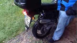preview picture of video '[HD] I´ve just nonsense in my head with my ´92 Honda XRV 750 Africa Twin'