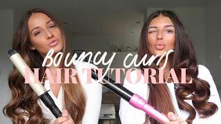 BOUNCY CURLS HAIR TUTORIAL | Rachel & Dionne