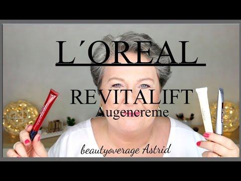 LORÈAL | Meine Augencreme-Routine | Revitalift Laser X3/Filler Auge |beautyoverage Astrid