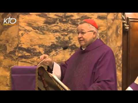 Le cardinal Vingt-Trois à Saint-Louis-des-Français