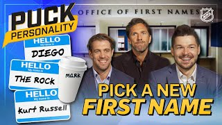 NHL stars pick new first names | Puck Personality | NHL