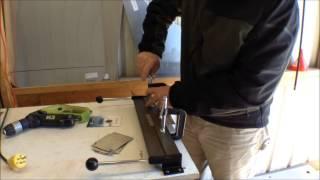 Using the Harbor Freight bending brake