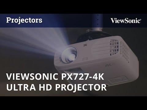 ViewSonic PX727-4K 2,200 Lumens Projector