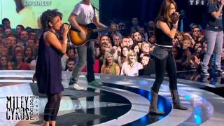 "Miley Cyrus ft. Joanna - ""7 Things"" Live at Star Academy, France 2008"