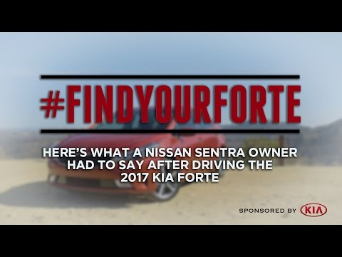 2017 Kia Forte Test Drive: Here's What One Nissan Sentra Owner Said - Sponsored by Kia