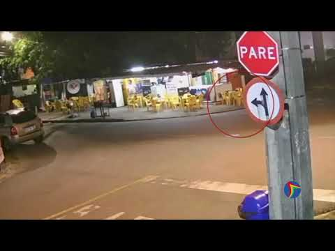 Divulgado vídeo do tiroteio entre major da PM e policial penal em Boa Viagem