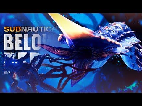 THE ICE WORM!! - Subnautica Below Zero - New Footage