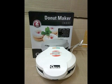 Donut Maker Oxone Ox 830 [unboxing]
