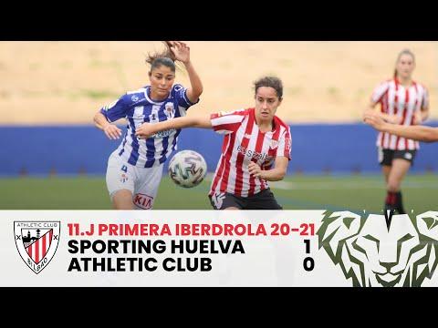 ⚽ HIGHLIGHTS I Sporting Club Huelva 1-0 Athletic Club I M11 Primera Iberdrola 2020-21
