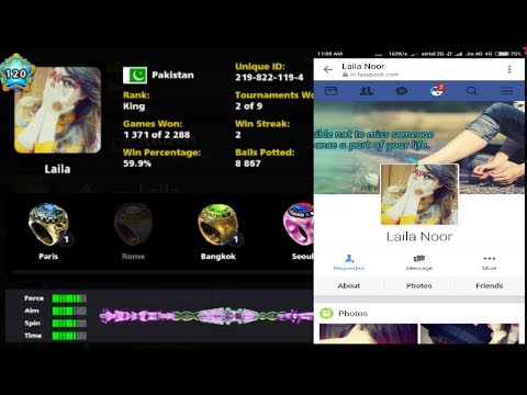 How To Find Fb Id With Unique Id In Android 8 Ball Pool || Best And Easy Way