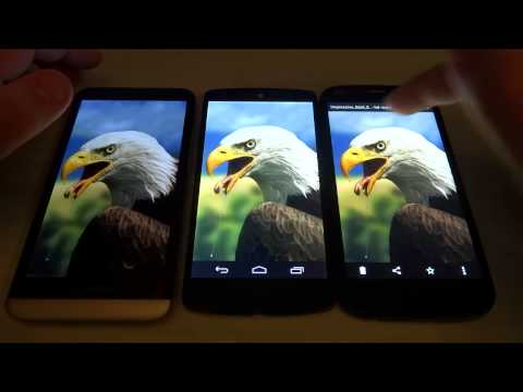 BlackBerry Z30 vs Google Nexus 5 vs Wiko Darkfull Hell in Italiano