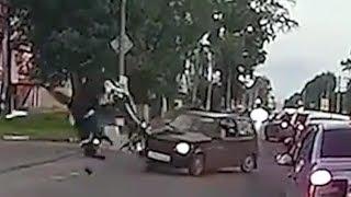 Жесткие аварии и ДТП 2017 №27