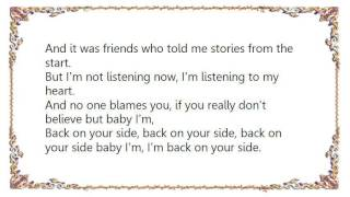 Chris Isaak - Back on Your Side Lyrics
