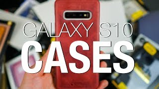 Galaxy S10 Lineup: Cases, Cases, and More Cases!
