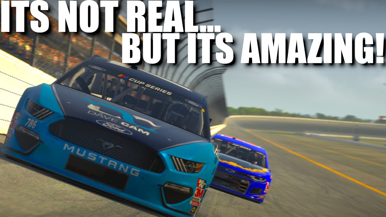 Dave Cam: iRacing Superspeedway at 250mph!