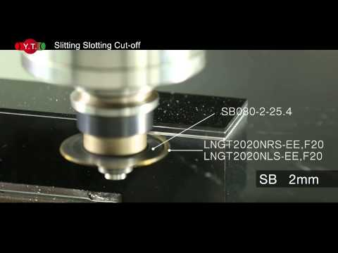 INDEXABLE Whole series of slitting / slotting / cut-off