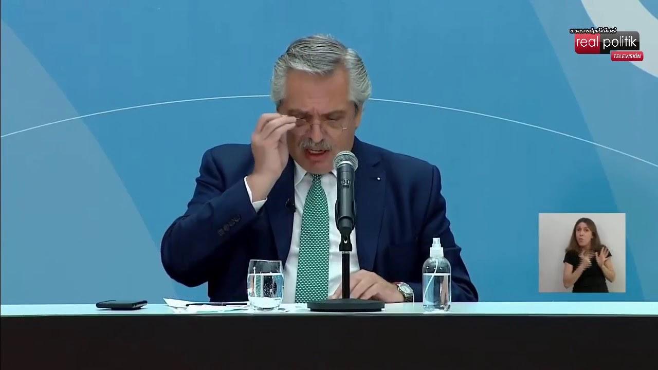 """Alberto Fernández: """"Somos uno de los pocos países que sigue recibiendo vacunas y sigue vacunando"""""""