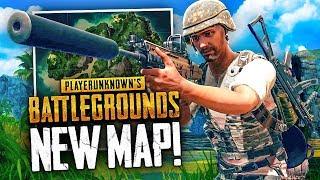 NEW JUNGLE MAP WIN! - Battlegrounds 4x4km Map Gameplay (PUBG)