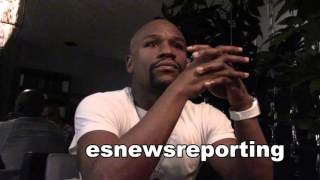 floyd mayweather reaction to people say manny won & how would he do vs duran/hagler/or hearns
