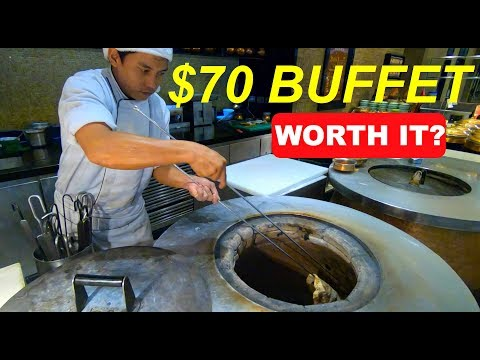 PHILIPPINES MOST EXPENSIVE BUFFET!   SPIRAL at Sofitel Manila