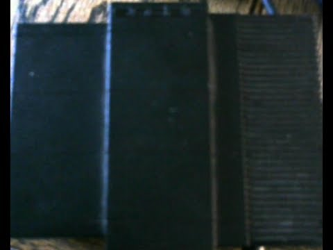 Sinclair QL power supply inside view and replacement of Capacitors