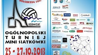 preview picture of video 'Turniej Minisiatkówki Dziewcząt Kołobrzeg 2013'