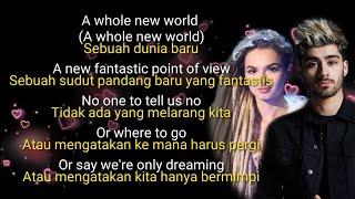 Terjemahan A whole New World ( Zayn Malik n Zhavia )