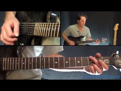 Bullet With Butterfly Wings Guitar Lesson - The Smashing Pumpkins Mp3