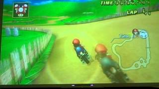 Mario Kart (Wii) - Unlocking Expert Staff Ghosts on Mushroom Cup