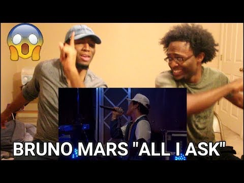 Bruno Mars covers Adele's All I Ask in the Live Lounge (REACTION)