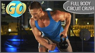 Full Body Circuit Crush Workout: 15 Min Fat Loss- BeFiT GO by BeFiT