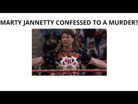 Marty Jannetty Confessed to Murder on Facebook