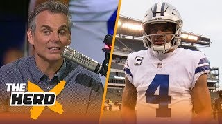 Colin Cowherd doesn't understand the negativity around Dak Prescott | THE HERD