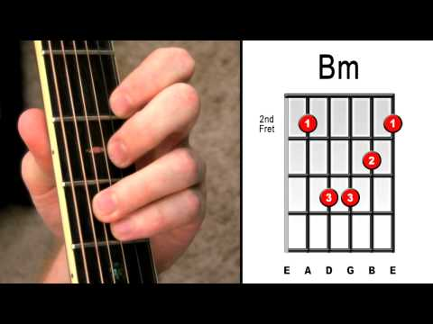 How To Master Bm Bar Chord - 3 Easy Steps - Beginners Electric Acoustic Guitar Lessons