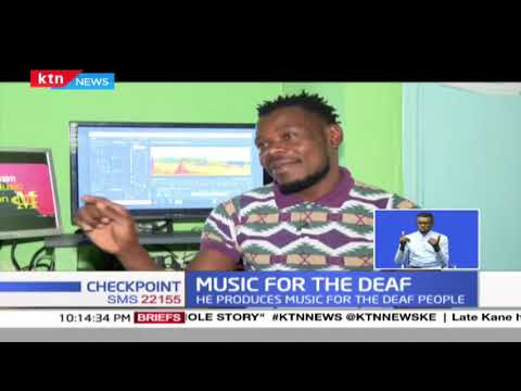 Music producer takes industry by storm by producing music for the deaf people