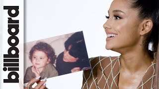 Ariana Grande Reacts to Her Childhood Photos | Billboard