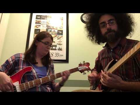 "this is my student, Corey and I playing ""Lithium"" by Nirvana.