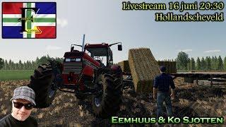 "Livestream Farming Simulator 2019 Hollandscheveld ""Deur mit boudel"" Eemhuus en Ko Sjotten!"