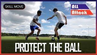 Behind Leg Football Soccer Skill