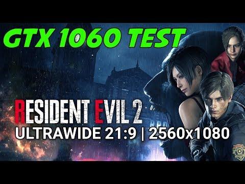 Resident Evil 2 GTX 1060 OC | 1080p | FRAME-RATE TEST